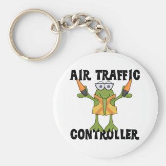 Camisetas y regalos del controlador aéreo llavero redondo tipo pin