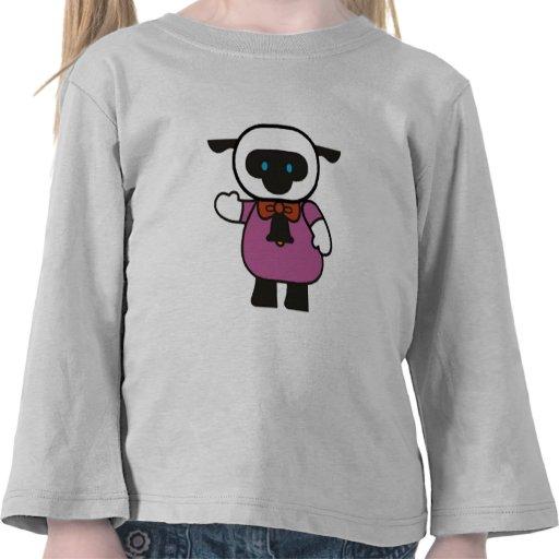 Camisetas y regalos del cordero de los niños