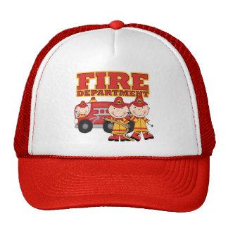 Camisetas y regalos del cuerpo de bomberos gorro de camionero
