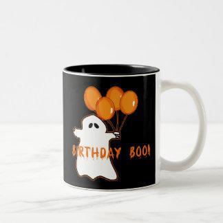 Camisetas y regalos del cumpleaños de Halloween Taza Dos Tonos