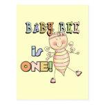 Camisetas y regalos del cumpleaños de la abeja del tarjeta postal