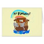 Camisetas y regalos del cumpleaños de la arca de N Felicitaciones