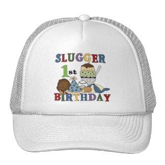 Camisetas y regalos del cumpleaños del bateador de gorra