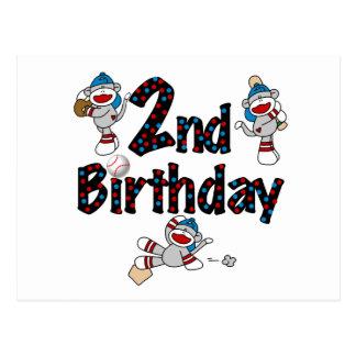 Camisetas y regalos del cumpleaños del béisbol del postal
