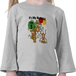 Camisetas y regalos del cumpleaños del brillo del