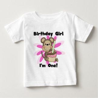 Camisetas y regalos del cumpleaños del chica del playeras