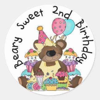 Camisetas y regalos del cumpleaños del dulce de Be Etiquetas