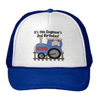 Camisetas y regalos del cumpleaños del ingeniero d gorro de camionero