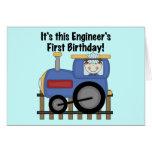 Camisetas y regalos del cumpleaños del ingeniero d tarjeta