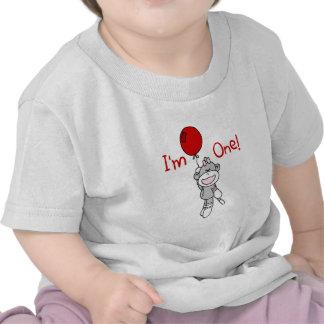 Camisetas y regalos del cumpleaños del mono del ca