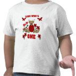 Camisetas y regalos del cumpleaños del oso de la m