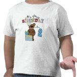 Camisetas y regalos del cumpleaños del oso del muc