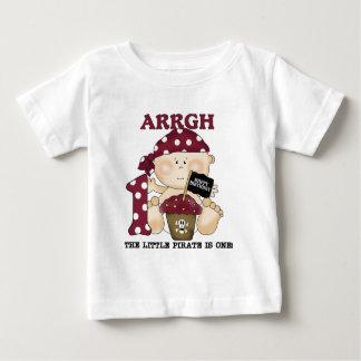Camisetas y regalos del cumpleaños del pirata del poleras