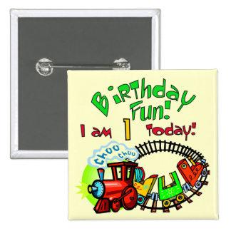 Camisetas y regalos del cumpleaños del tren de Cho Pin Cuadrada 5 Cm