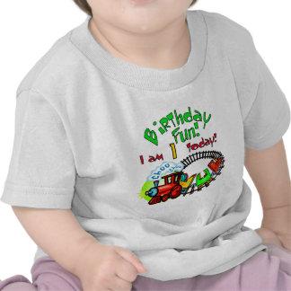 Camisetas y regalos del cumpleaños del tren de Cho
