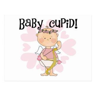 Camisetas y regalos del Cupid del bebé Tarjetas Postales