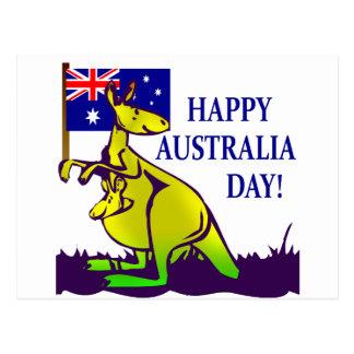 ¡Camisetas y regalos del DÍA de AUSTRALIA Tarjetas Postales