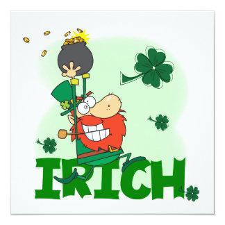 Camisetas y regalos del día de Irich St Patrick Anuncios