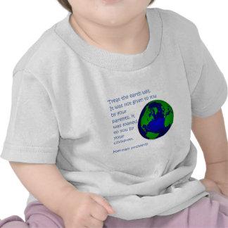 Camisetas y regalos del Día de la Tierra del prove