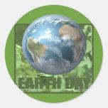 Camisetas y regalos del Día de la Tierra Etiqueta