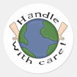 Camisetas y regalos del Día de la Tierra para los Etiquetas Redondas