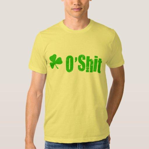 Camisetas y regalos del día de O'Shit St Patrick Poleras
