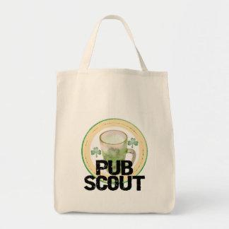 Camisetas y regalos del día de St Patrick del expl Bolsa Tela Para La Compra