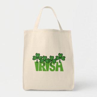 Camisetas y regalos del día de St Patrick del irla Bolsa Tela Para La Compra