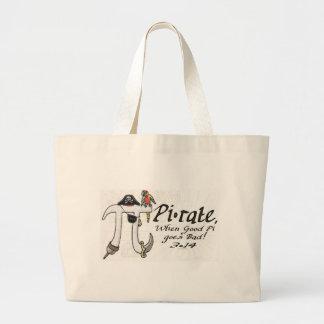 Camisetas y regalos del día del pirata pi de la ta bolsas