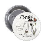 Camisetas y regalos del día del pirata pi de la ta pins