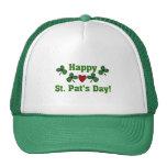 Camisetas y regalos del día del St. Pat feliz Gorras De Camionero