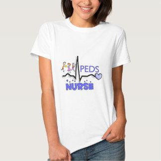 Camisetas y regalos del diseño de la ENFERMERA QRS Playera
