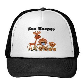 Camisetas y regalos del encargado de parque zoológ gorras