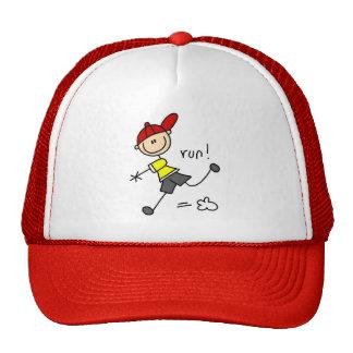 Camisetas y regalos del funcionamiento del béisbol gorra