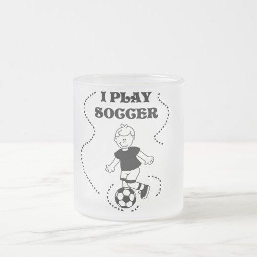 Camisetas y regalos del fútbol del juego del mucha taza