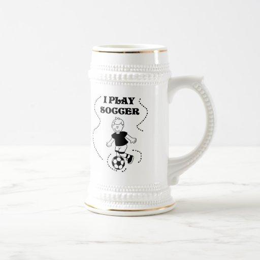 Camisetas y regalos del fútbol del juego del mucha taza de café