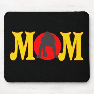 Camisetas y regalos del fútbol para la mamá tapete de raton