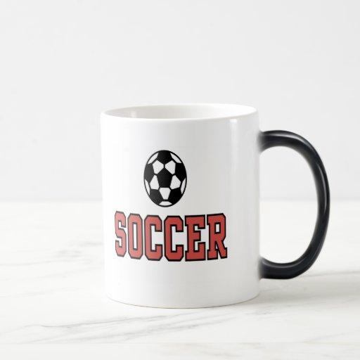 Camisetas y regalos del fútbol tazas de café