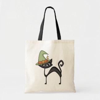 Camisetas y regalos del gato de Halloween Bolsas