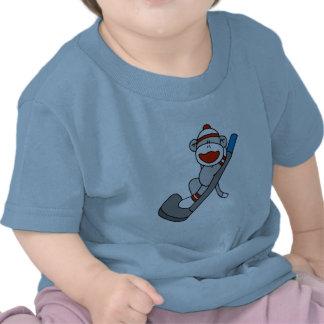 Camisetas y regalos del golf del mono del calcetín