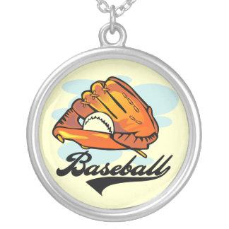 Camisetas y regalos del guante de béisbol colgantes personalizados