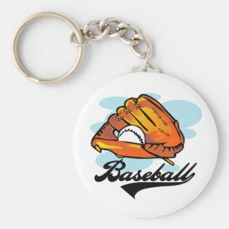 Camisetas y regalos del guante de béisbol llavero