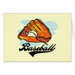 Camisetas y regalos del guante de béisbol felicitaciones