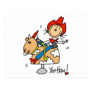 Camisetas y regalos del Haw de Yee de la vaquera Postales