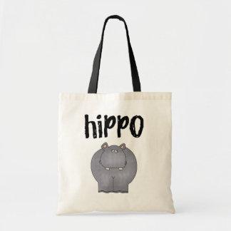 Camisetas y regalos del hipopótamo bolsas