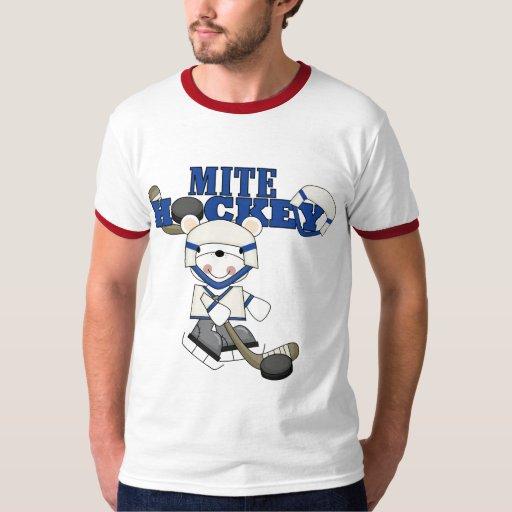 Camisetas y regalos del hockey del ácaro del oso remeras