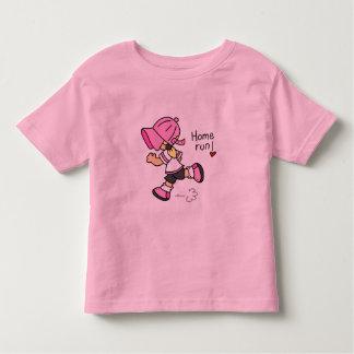 Camisetas y regalos del home run del béisbol de playera