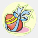 Camisetas y regalos del huevo de Pascua Etiquetas Redondas
