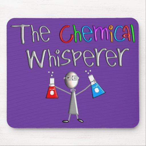 Camisetas y regalos del humor de los químicos alfombrillas de raton