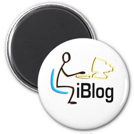 camisetas y regalos del iBlog Imán Para Frigorifico